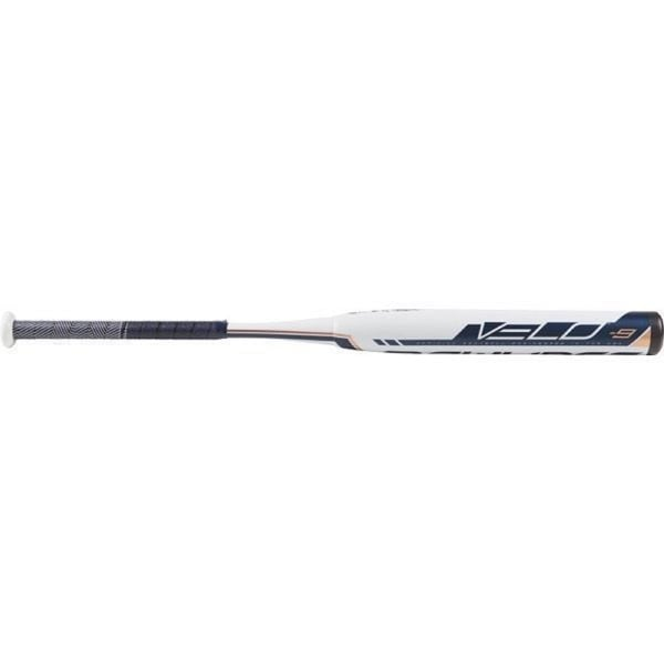 "Rawlings 2019 Velo High School/College Softball Bat (34""/ 25oz). Opens flyout."