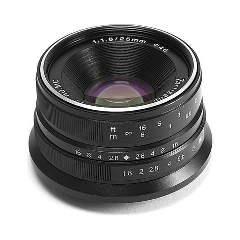7artisans 25mm f/1.8 Manual Focus Lens for Fujifilm X Mount Cameras