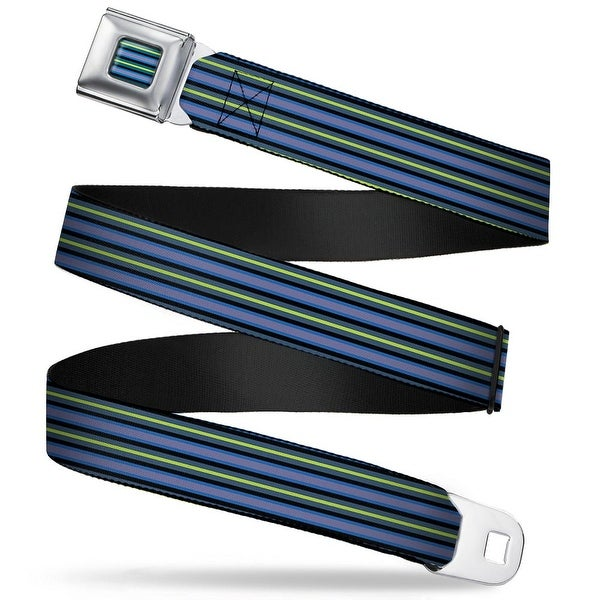 Rz Stripes1 Full Color Blues Black Gray Greens Rz Stripes1 Blues Black Gray Seatbelt Belt