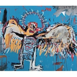Untitled, 1981, Fallen Angel, Jean-Michel Basquiat