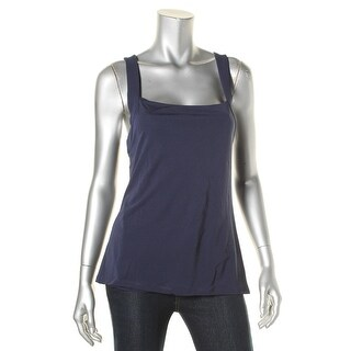 Lauren Ralph Lauren Womens Tank Top Cross-Back Sleeveless