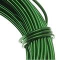 Aluminum Craft Wire Kelly Green 18 Gauge 39 Feet (11.8 Meters) - Thumbnail 0