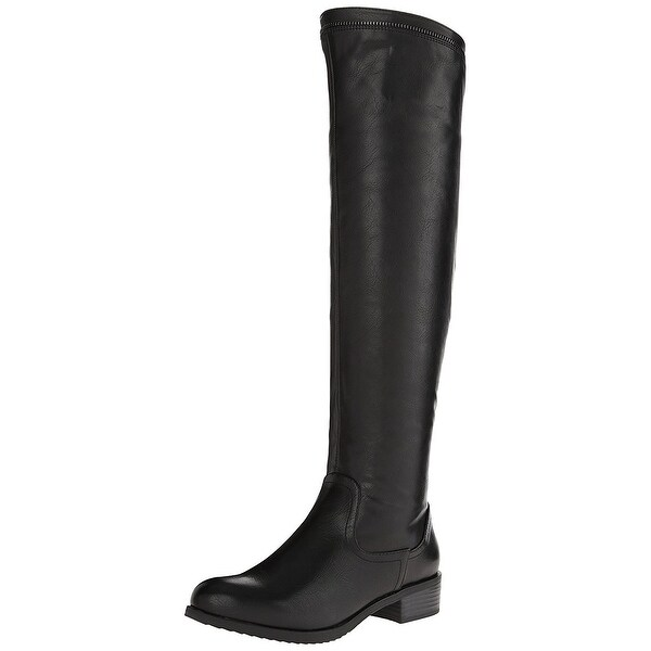 White Mountain Womens Crooner Almond Toe Mid-Calf Fashion Boots