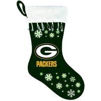 Green Bay Packers Snowflake Stocking - Multi