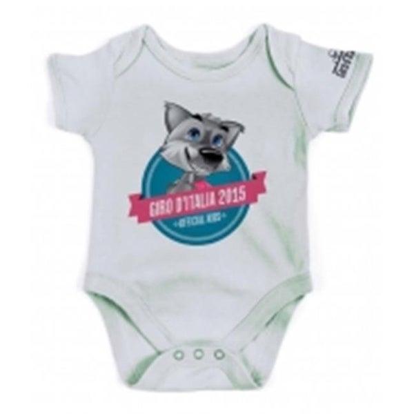 Giro Italia BBWH1218 Baby Sleep Suit, White Wolfie - 12-18 Months