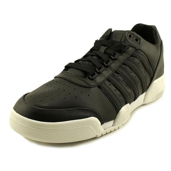 K-Swiss Gstaad BL Men Black/White/Big Logo Tennis Shoes