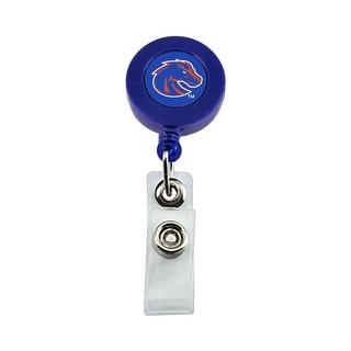 Boise State Broncos Retractable Badge Reel Id Ticket Clip NCAA