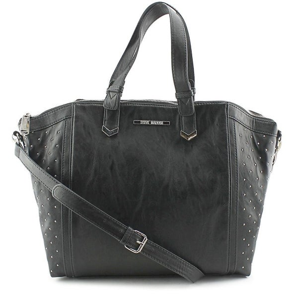 Steve Madden DO258435 Women Synthetic Satchel - Black