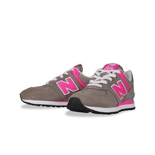 New Balance Girls PC574GP Low Top Lace Up Walking Shoes - 12.5 m us kid
