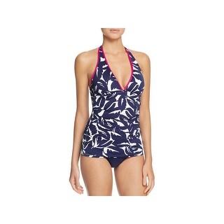 Tommy Bahama Womens Jungle Printed Halter Swim Top Separates