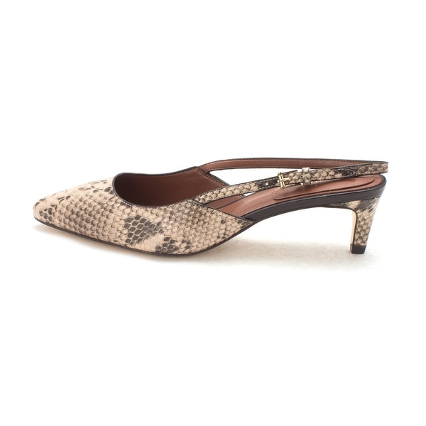 Cole Haan Womens Priscilasam Pointed Toe SlingBack D-orsay Pumps