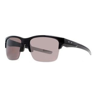 OAKLEY Sport Thinlink Men's OO9316-08 Polished Black Grey Sunglasses - 63mm-11mm-127mm