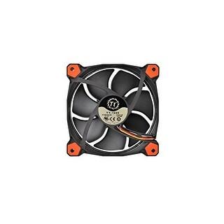 Thermaltake Riing 12 Series High Static Pressure 120Mm Circular Led Ring Case/Radiator Fan With Anti-Vibration Mounting