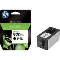 HP 920XL High-Yield Black Original Ink Cartridge CD975AN