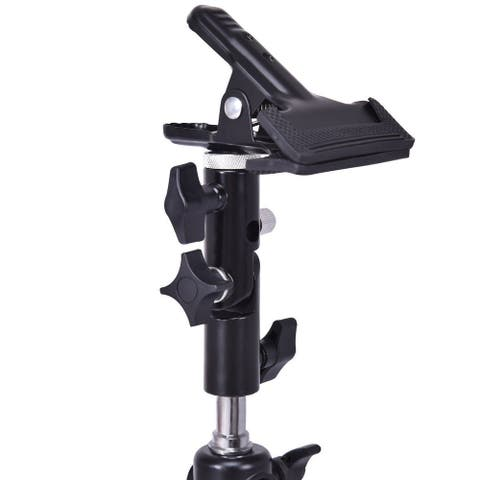 Costway Photography Studio Reflector & Background Metal Clamp Clip