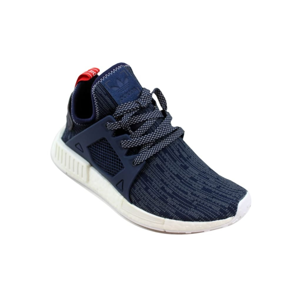 sale retailer a7362 0346c Adidas Women's NMD XR1 Primeknit W Unity Blue/Navy Glitch BB3685
