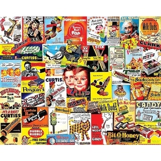 Old Time Candy 1,000 Piece Puzzle