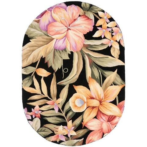 SAFAVIEH Hand-hooked Chelsea Deja Country Oriental Wool Rug