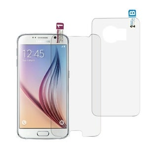 NIC Glasstic Anti-fingerprint Screen Protector Film for Samsung Galaxy S6