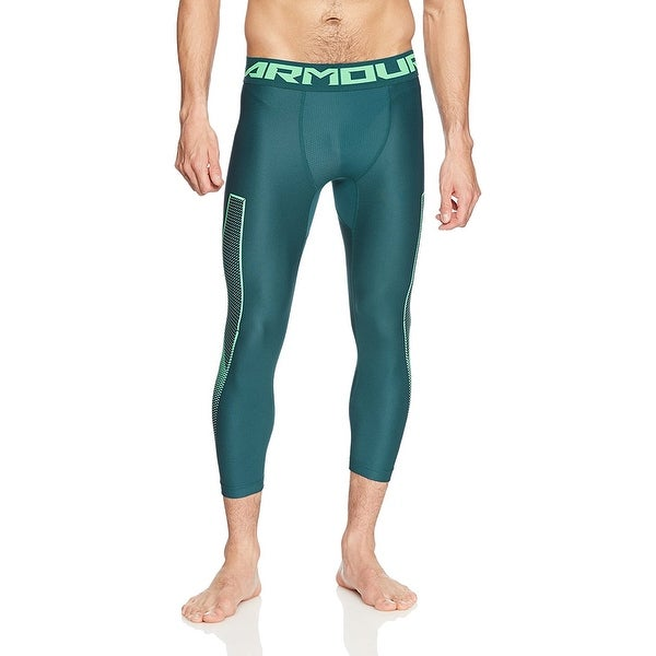 c34b549b Under Armour Men's HeatGear Armour Graphic 3/4, Tourmaline Teal. Click  to Zoom