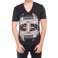 Just Cavalli Men Cultured T-Shirt Black