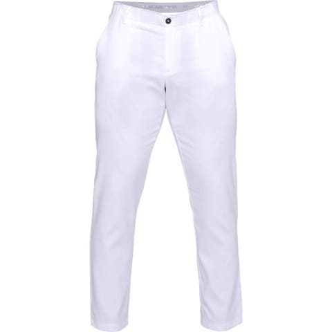 Under Armour Men's Showdown Tapered Golf Pants,, White (100)/White, Size 30/32