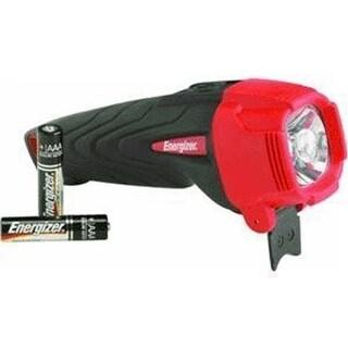 Energizer ENRUB21E Rubber Led Light Large Aa Batteries, Black