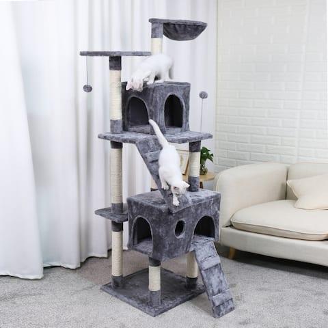 Cat Tree Tower Climbing Shelf