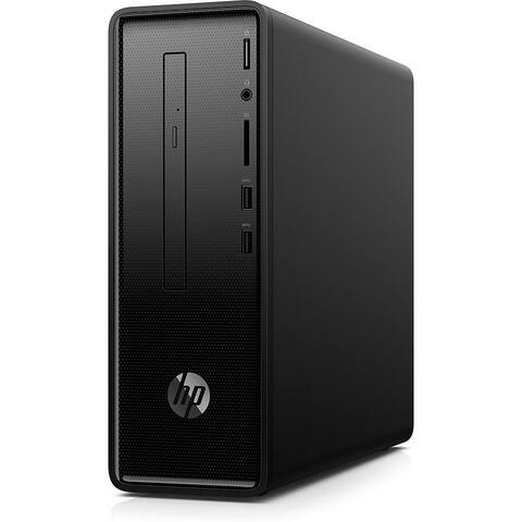 HP Desktop Slimline 290 p0043w Celeron G4900 4 GB RAM 500 GB HDD W10 Home 64 bit Intel UHD Graphics DVD Writer (Refurbished)