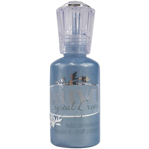 Nuvo Crystal Drops 1.1oz-Navy Blue
