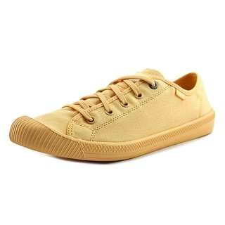 Palladium Flex Lace   Round Toe Canvas  Tennis Shoe