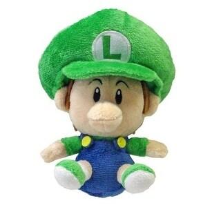 """Super Mario Brothers 5"""" Plush Baby Luigi - multi"""