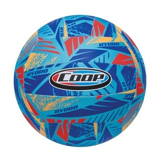 "8"" Blue, Orange and Red High Performance Hydro Volleyball Swimming Pool Toy"
