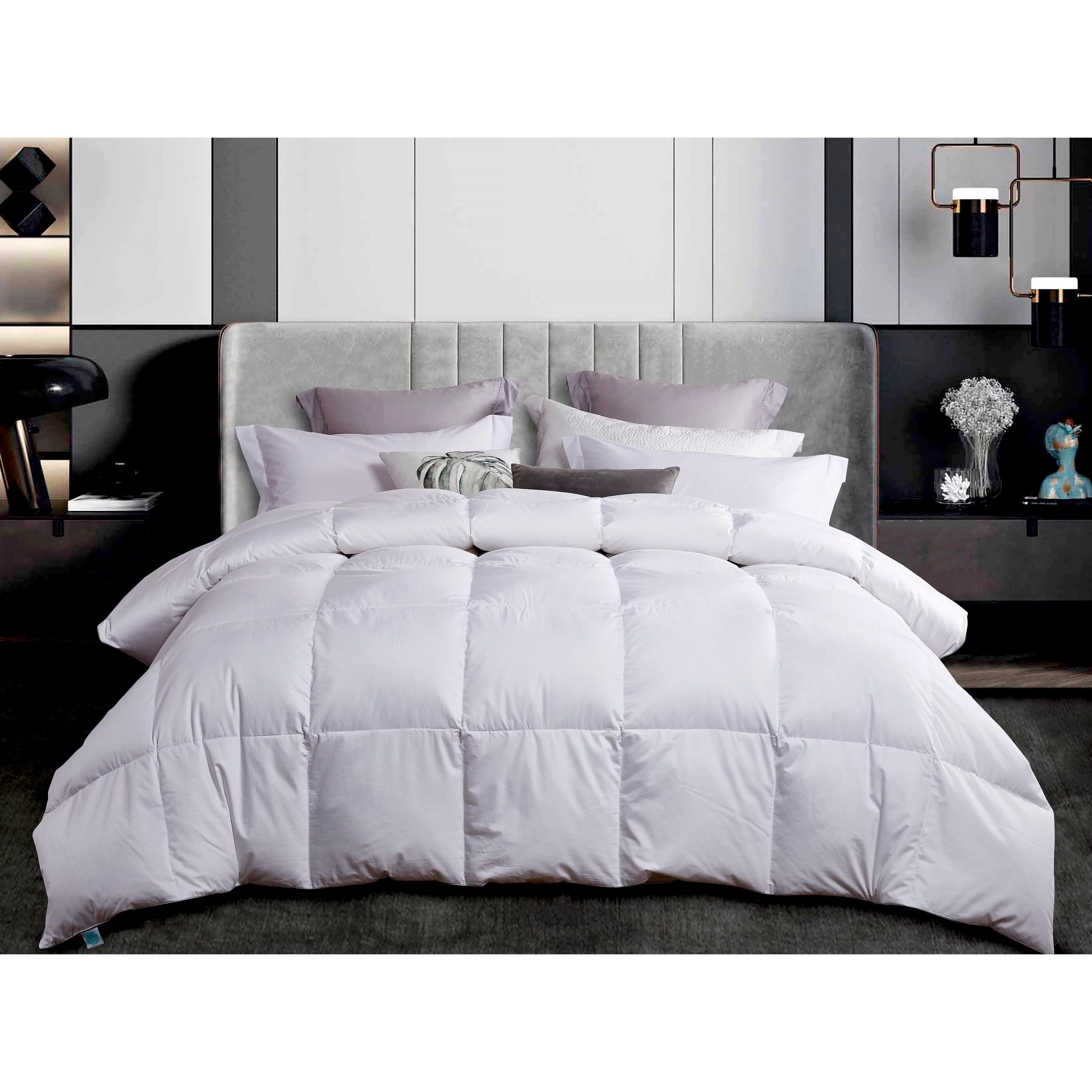 Martha Stewart 300 Thread Count White Down Comforter Overstock 31223584