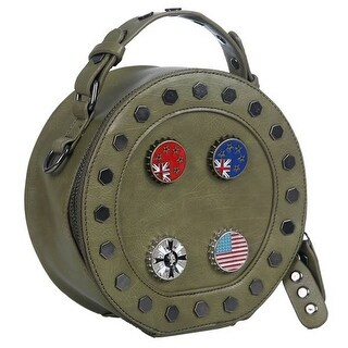 Mad Style Canteen Bag With Pins