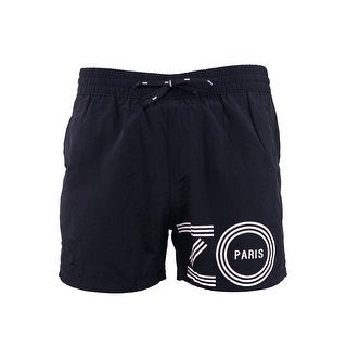 Kenzo Mens Black Bathing Suit Swim Shorts - XL