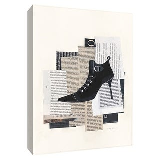 """PTM Images 9-154753  PTM Canvas Collection 10"""" x 8"""" - """"Step It Up IV"""" Giclee Shoes Art Print on Canvas"""