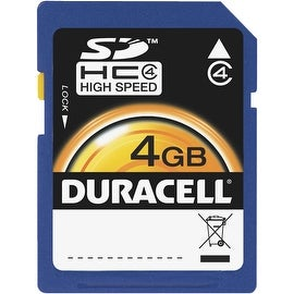 Duracell 4Gb Sdhc Memory Card