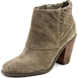 Jessica Simpson Casha Women  Round Toe Suede Gray Ankle Boot