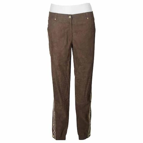 adidas Ultrasuede Pants Womens Casual Pants - Brown