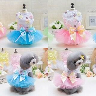 Small Pet Dog Princess Dress Cat Puppy Skirt Tutu Apparel Costume