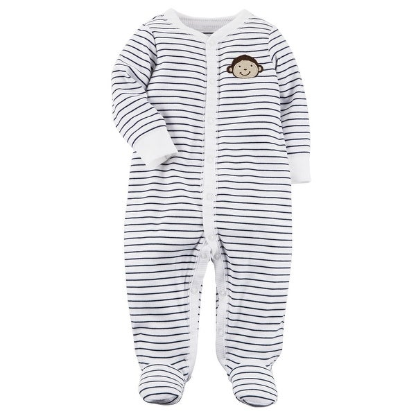 dc1820205 Shop Carter s Baby Boys  Monkey Snap-Up Cotton Sleep   Play