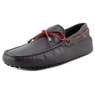 Tod's Laccetto My Colors New Gommini 122 Square Toe Leather Loafer