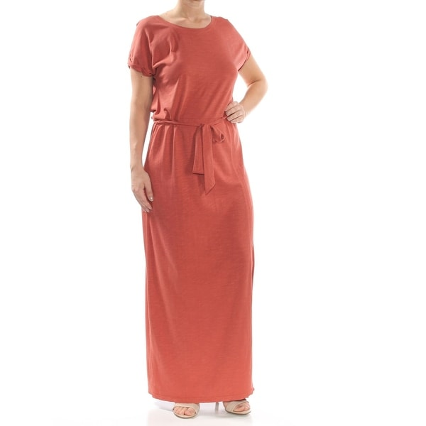 e2d78d06b8916 Sanctuary Women's Terracotta Orange Size Large L T-Shirt Maxi Dress