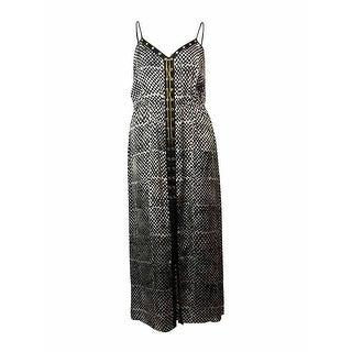 MICHAEL Michael Kors Women's Grommet Laced-Chain Maxi Dress