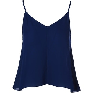 Aqua Womens Camisole Georgette Double V