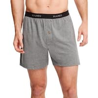 Hanes Classics Men's TAGLESS® ComfortSoft® Knit Boxers with Comfort Flex® Waistband 5-Pack - Size - L - Color - Assorted