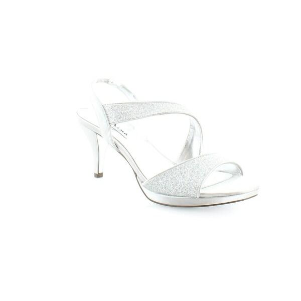 Nina Newark Women's Heels Silver