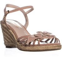 Nanette Nanette Lepore Quince Wedge Sandals, Dusty Pink - 7.5 us