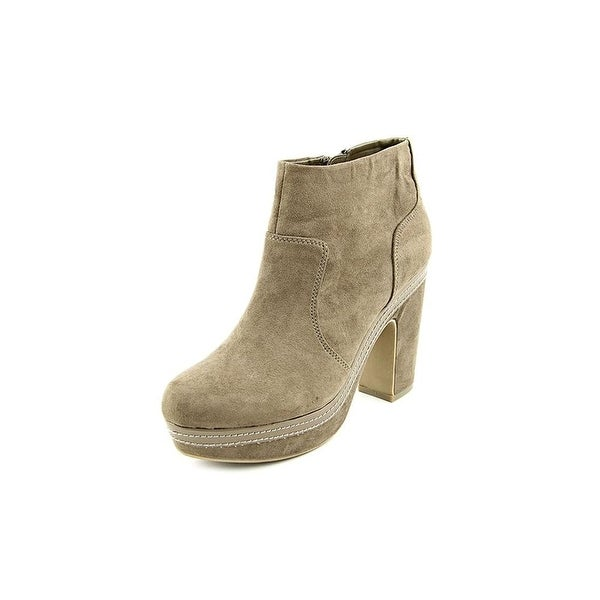 Madden Girl Womens Corryy Fabric Almond Toe Ankle Fashion Boots